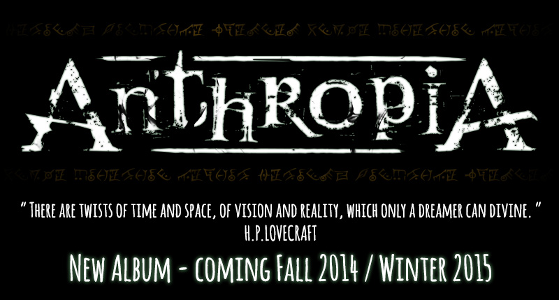ANTHROPIA - New Album coming Fall 2014 Winter 2015