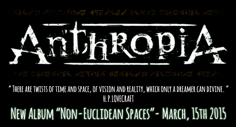 ANTHROPIA - New Album coming Fall 2014 Winter 2015