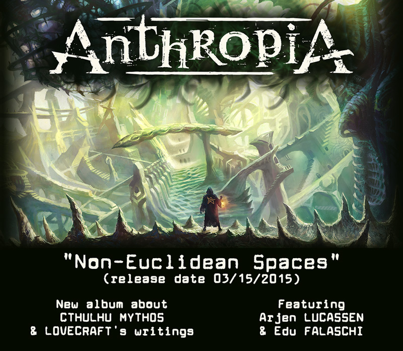 ANTHROPIA - Non-Euclidean Spaces